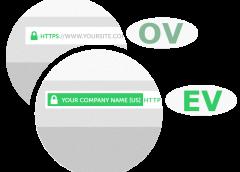 So sánh sự khác nhau giữa chứng chỉ OV SSL và EV SSL